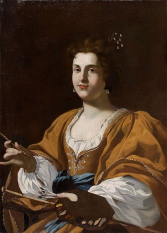 portrait dartemisia gentileschi by simon vouet