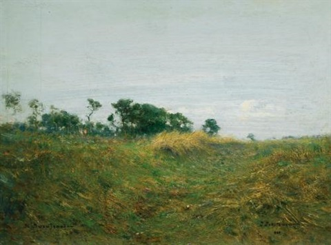 path through the grass by ivan pavlovich pokhitonov