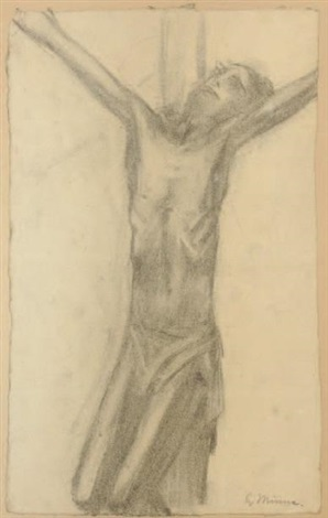 christ en croix by george minne