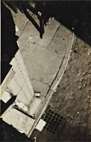 new york city, street corner, high angle view by walker evans