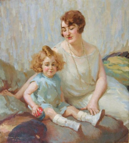 tendresse maternelle by charles garabed atamian