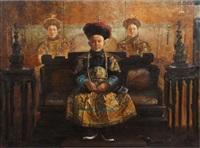 der junge, nicht amtierende kaiser von china by ma zuxu