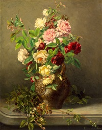 rozenboeket by hermina van der haas