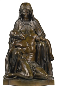 pietà by jean jacques pradier