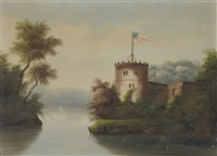 castle, croton on hudson by thomas chambers