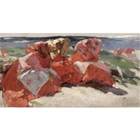 peasant women by abram efimovich arkhipov