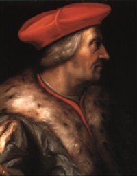 portrait of cardinal robert pucci by cristofano di papi dell' altissimo