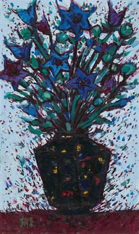 flower vase by lee dai won
