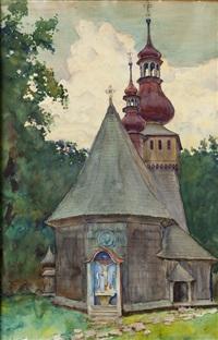 kościół w rabce by aleksander augustynowicz