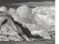selected images of yosemite (8 works) by ansel adams