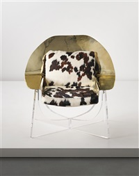 coque armchair by philippe hiquily