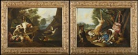 composition de chasse (pair) by adriaen de gryef