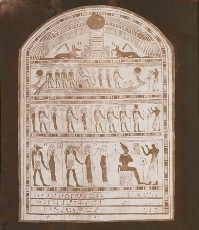 egyptian tablet thebes by william henry fox talbot