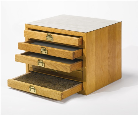 untitled box with drawers by richard artschwager