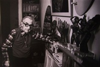 man ray chez lui, paris by claude azoulay