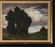 paysage aux vaches by pierre abattucci