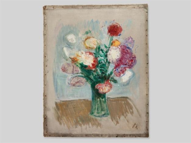 roses ii by oskar kokoschka