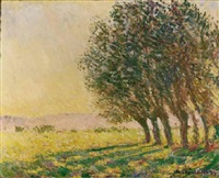 saules au soleil couchant by claude monet
