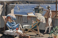 on the roof by herbert edward badham
