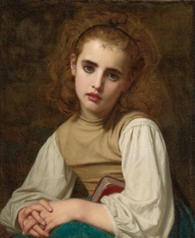 young beauty by hugues merle