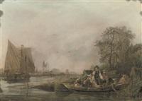 the river crossing by leendert de koningh