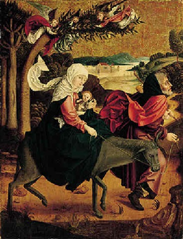 the flight into egypt by austrian school salzburg 15