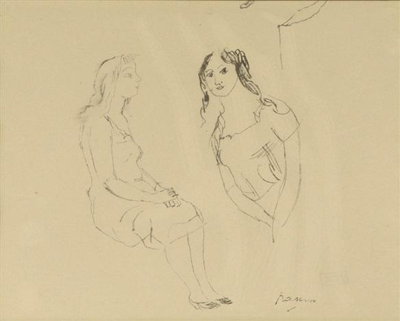etudes de femmes (study) by jules pascin