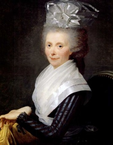 portrait of a lady by adélaïde labille guiard