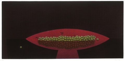 red compote by yozo hamaguchi