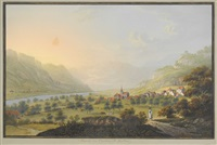 ragatz im kanton st. gallen by johann heinrich bleuler the younger
