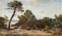 bord de mer à la pinelle by vincent joseph françois courdouan
