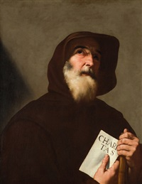 san francesco di paola by jusepe de ribera