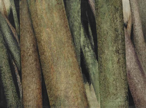 untitled (from the tree-trunks series) by sohrab sepehri