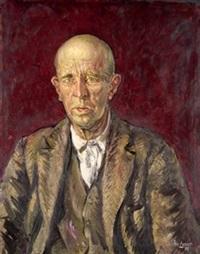 retrato de anciano by jose aguiar garcia