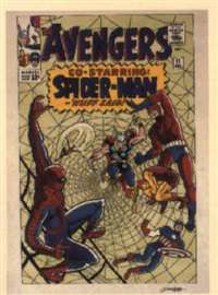 the avengers no.11 by dick ayers