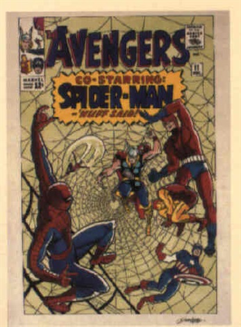 the avengers no11 by dick ayers