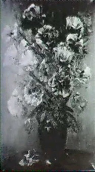 mohnblumen in vase by ture ander