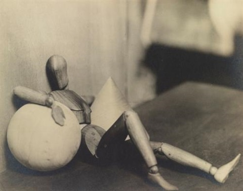 untitled (mannequin fatigué) by man ray