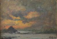 tramonto by mario gachet