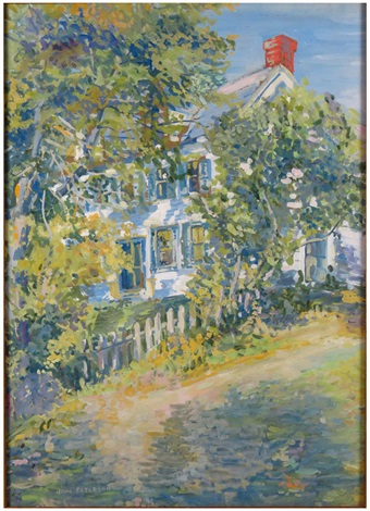 cape ann old homestead by jane peterson