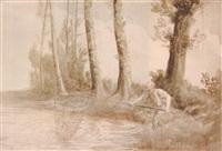 the fisherman by alphonse legros