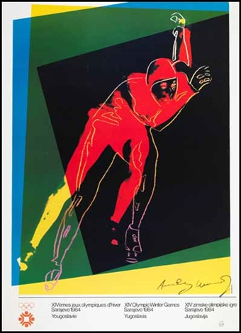 olympic winter games sarajevo by andy warhol