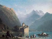 château chillon by anthon adrianus sem