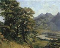 alpenlandschaft mit geißhirt by jean-joseph reichlen