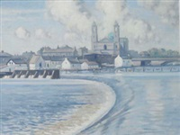 the weir, athlone by david hone