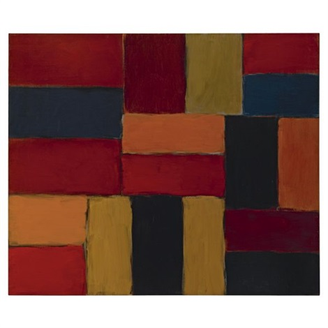 valencia wall by sean scully