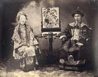mandarin de canton et sa femme by milton m. miller