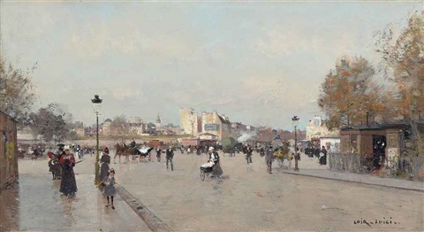 boulevard berthier paris by luigi loir