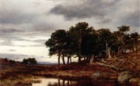 a moorland landscape by james docharty