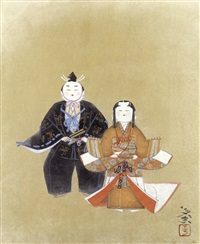 tensho-bina dolls by tadashi moriya